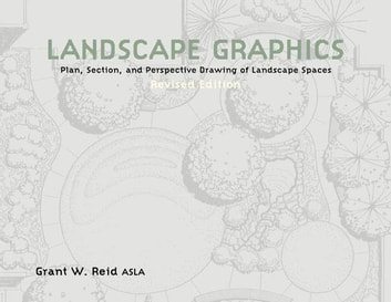 Landscape Graphics - Plan, Section, and Perspective Drawing of Landscape Spaces ebook by Grant Reid
