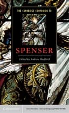 The Cambridge Companion to Spenser ebook by Andrew Hadfield