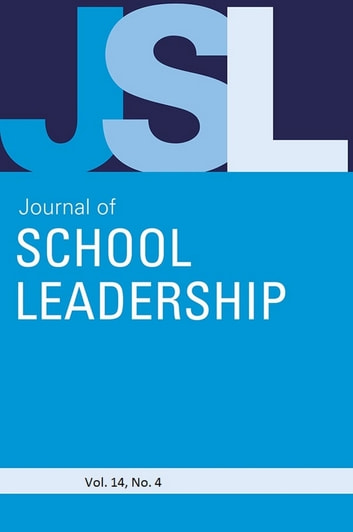 Jsl Vol 14-N4 ebook by JOURNAL OF SCHOOL LEADERSHIP