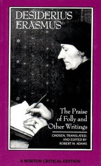desiderius erasmus the praise of folly