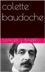 colette baudoche ebook by Maurice Barrès