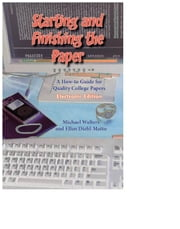 Starting And Finishing The Paper ebook by Michael Walters and Ellen Diehl-Matto