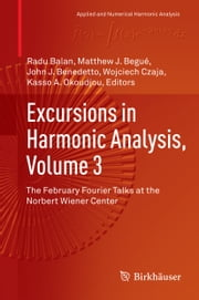Excursions in Harmonic Analysis, Volume 3 - The February Fourier Talks at the Norbert Wiener Center ebook by