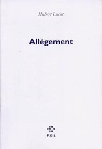 Allègement ebook by Hubert Lucot