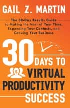 30 Days to Virtual Productivity Success ebook by Gail Z. Martin