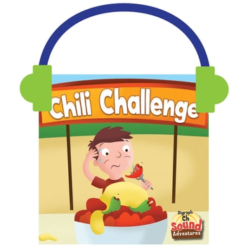 The Chili Challenge - Phonetic Sound /ch/ audiobook by Meg Greve,Ed Myer