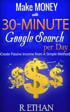 How to make money with Google Search ebook by huy tran