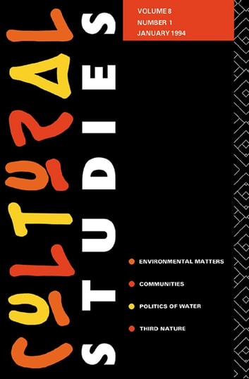 Cultural Studies - Volume 8, Issue 1 ebook by