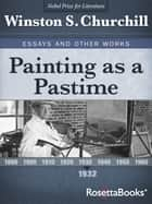 Painting as a Pastime ebook by Winston S. Churchill