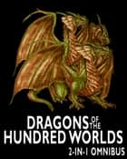 Dragons of the Hundred Worlds Omnibus (Breath of Fire, Living Fire): 2 Epic Fantasy Adventure Novels in 1 Book ebook by Robert Stanek