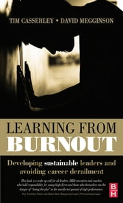 Learning from Burnout ebook by Tim Casserley,David Megginson