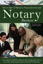 How to Open & Operate a Financially Successful Notary Business ebook by Kristie Lorette