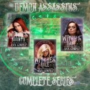Demon Assassins (3-Book Series) - Urban Fantasy Romance audiobook by Ann Gimpel
