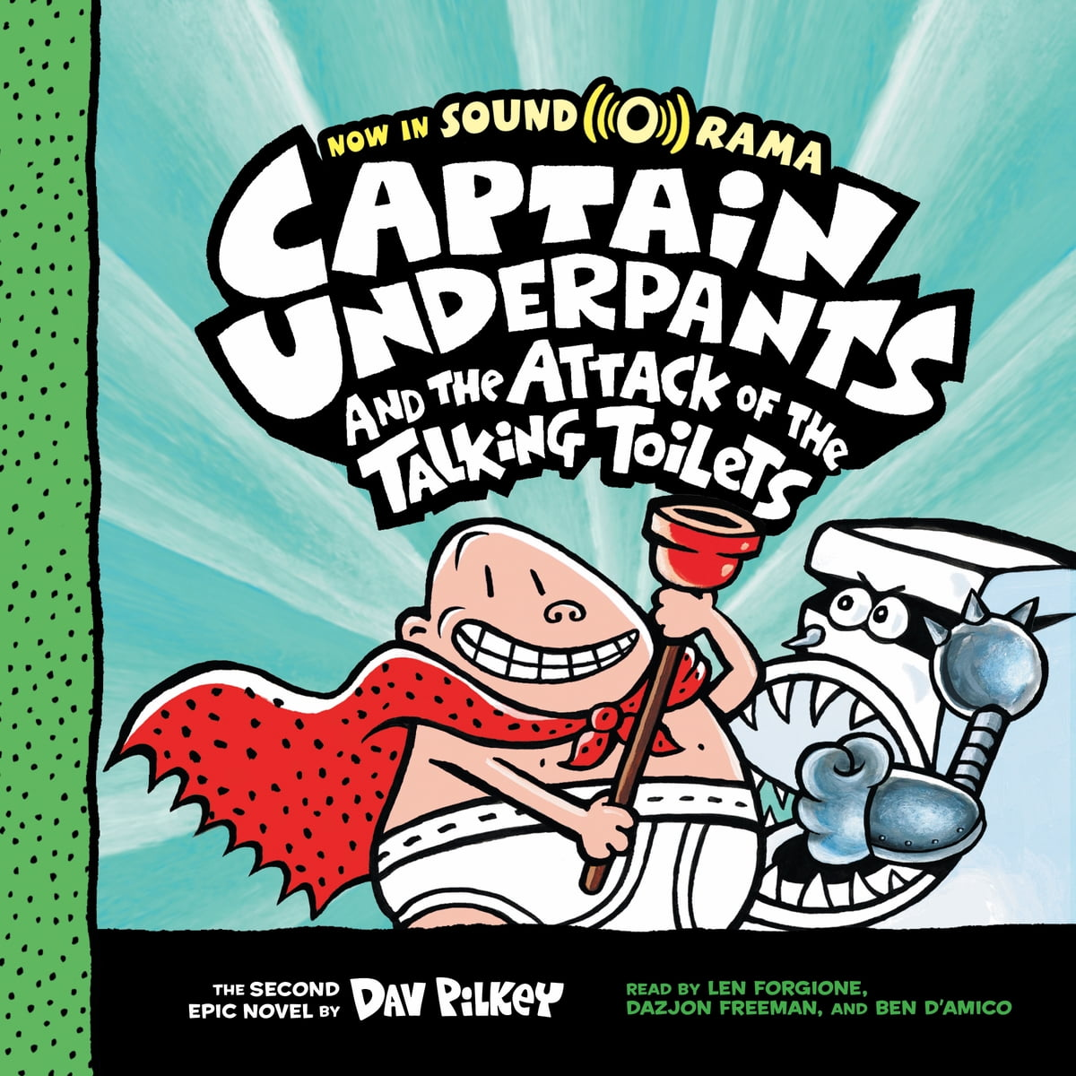 Captain Underpants 2 Captain Underpants And The Attack Of The Talking Toilets Audiobook By Dav Pilkey 9781338282955 Rakuten Kobo