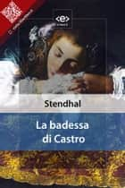 La badessa di Castro ebook by Stendhal