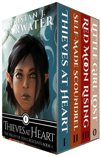 The Valley of Ten Crescents - (Box Set: Books 1-3) ebook by Tristan J. Tarwater