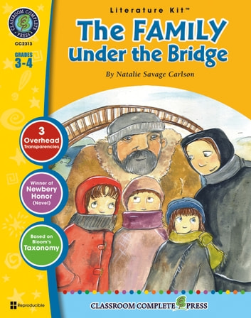 The Family Under the Bridge - Literature Kit Gr. 3-4 ebook by Nat Reed