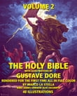 The Holy Bible Illustrated by Gustave Dore' in Full Color: Volume 2 of 6