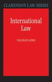 International Law ebook by Vaughan Lowe