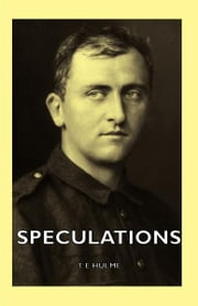Speculations ebook by T. E Hulme