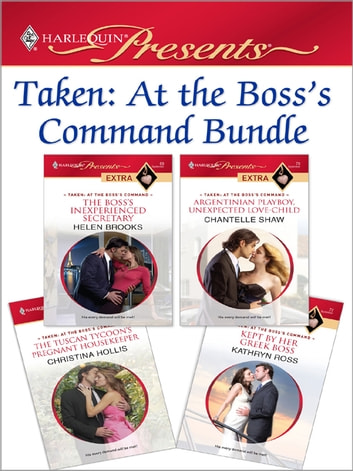 Taken: At the Boss's Command Bundle 電子書 by Helen Brooks,Chantelle Shaw,Christina Hollis,Kathryn Ross