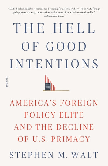 The Hell of Good Intentions - America's Foreign Policy Elite and the Decline of U.S. Primacy ebook by Stephen M. Walt