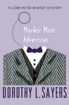 Murder Must Advertise ebook de