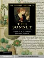 The Cambridge Companion to the Sonnet ebook by A. D. Cousins, Peter Howarth