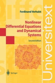 Nonlinear Differential Equations and Dynamical Systems ebook by Ferdinand Verhulst