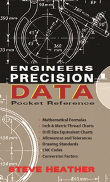 Engineers Precision Data Pocket Reference ebook by Steve Heather