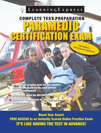 Paramedic Certification Exam Ebook By Learningexpress Llc