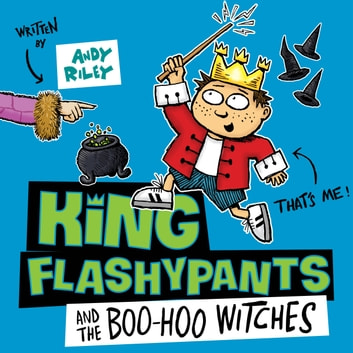 King Flashypants and the Boo-Hoo Witches - Book 4 audiobook by Andy Riley
