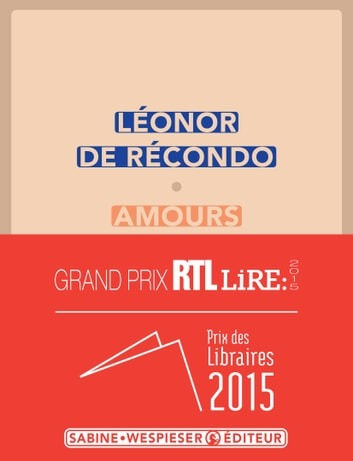 Amours ebook by Léonor de Récondo