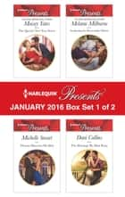 Harlequin Presents January 2016 - Box Set 1 of 2 - The Queen's New Year Secret\Theseus Discovers His Heir\Awakening the Ravensdale Heiress\The Marriage He Must Keep ebook by Maisey Yates, Michelle Smart, Melanie Milburne,...