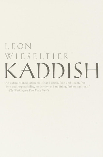 Kaddish ebook by Leon Wieseltier