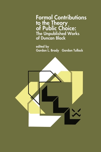 the public choice Public choice or public choice theory refers to the use of economic tools to deal with traditional problems of political science[1] its content includes the study of political behavior[2] in political.