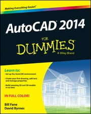 AutoCAD 2014 For Dummies ebook by Bill Fane,David Byrnes