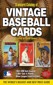 2012 Standard Catalog of Baseball Cards ebook by Bob Lemke