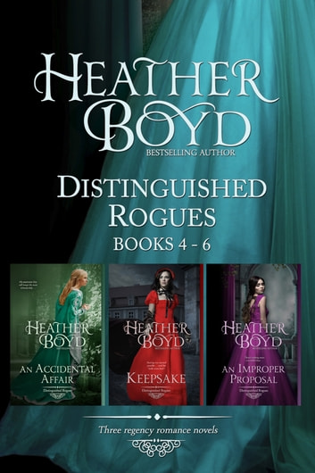 Distinguished Rogues Book 4-6 ebook by Heather Boyd
