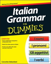 Italian Grammar For Dummies ebook by Beth Bartolini-Salimbeni