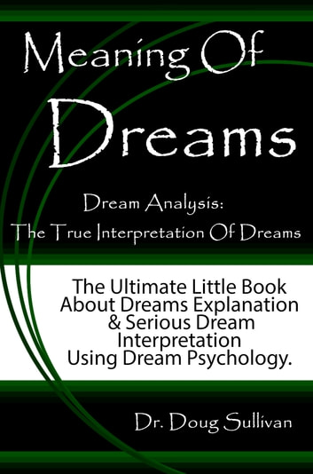 an analysis of the dreams in psychology