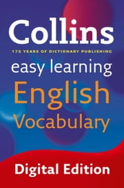 Easy Learning English Vocabulary (Collins Easy Learning English) ebook by Collins