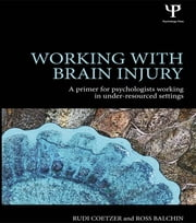 Working with Brain Injury - A primer for psychologists working in under-resourced settings ebook by Rudi Coetzer, Ross Balchin