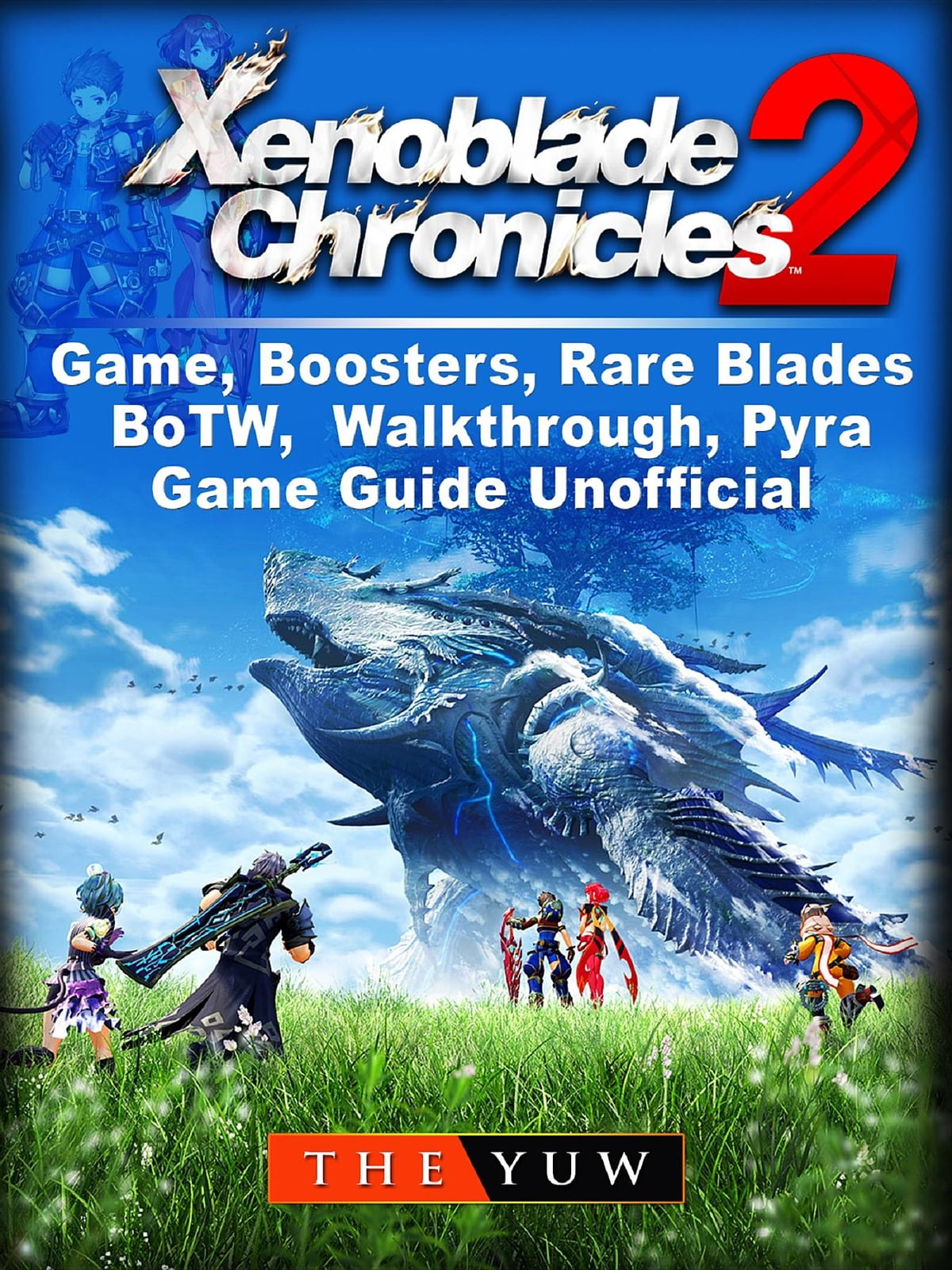 Xenoblade Chronicles 2 Game Boosters Rare Blades Botw