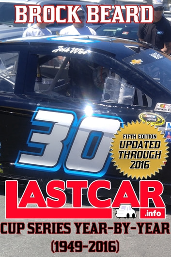 LASTCAR: Cup Series Year-By-Year (1949-2016) ebook by Brock Beard