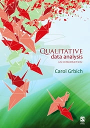 Qualitative Data Analysis - An Introduction ebook by Dr Carol Grbich