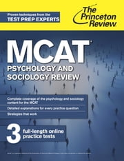 MCAT Psychology and Sociology Review - New for MCAT 2015 ebook by Princeton Review