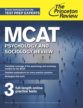Mcat psychology and sociology review ebook by princeton review mcat psychology and sociology review new for mcat 2015 ebook by princeton review fandeluxe Gallery
