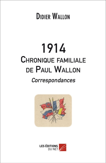 1914 - Chronique familiale de Paul Wallon - Correspondances ebook by Didier Wallon