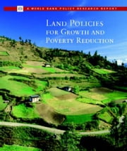 Land Policies for Growth and Poverty Reduction ebook by World Bank Group